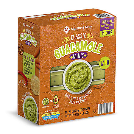 Member's Mark Original Guacamole Minis (2.5 oz., 14 pk.)
