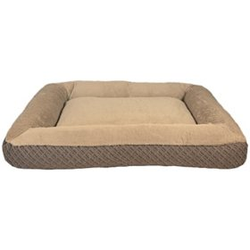 """Member's Mark Bolster Sleeper Pet Bed, 30"""" x 40"""" (Choose Your Color)."""