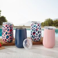 Member's Mark 16-Ounce Stainless-Steel Insulated Vacuum Tumblers with Lids, 4-Pack (Assorted Colors)