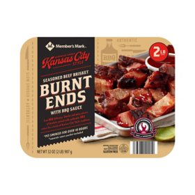Member's Mark Kansas City Style Seasoned Beef Brisket Burnt Ends (32 oz.)