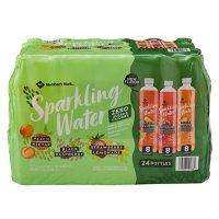 Member's Mark Sparkling Water Variety Pack (17oz / 24pk)