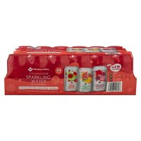 Member's Mark Unsweetened Sparkling Water Variety Pack (12 fl. oz. 24 pk.)