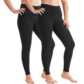 Member's Mark Women's French Terry Luxe Legging 2 Pack