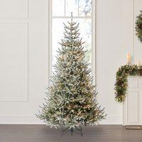 Member's Mark 7.5' Snowy Georgia Fir Christmas Tree