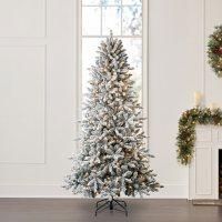 Member's Mark 7.5' Aspen Pine Flocked Christmas Tree