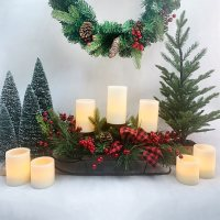 Member's Mark 7-Piece Flameless LED Candle Set (Smooth or Textured)