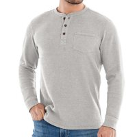 Member's Mark Waffle Thermal Henley