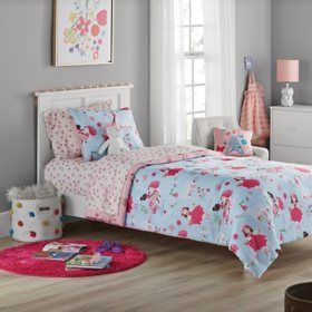 Member's Mark Jersey Bedding Set Princess (6pc Twin or 8pc Full)