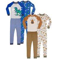 Member's Mark Boy's 8 Piece Cotton Pajama