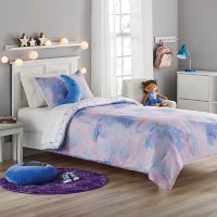 Member's Mark Jersey Bedding Set Sky Cloud (6pc Twin or 8pc Full)