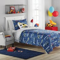 Member's Mark  Jersey Bedding Set Construction (6pc Twin or 8pc Full)