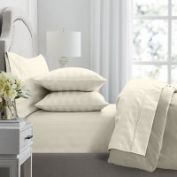 Member's Mark Hotel Premier Collection 700 Thread Count Egyptian Cotton Striped Sheet Set (Assorted Sizes and Colors)