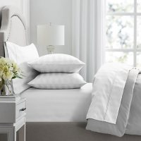 Member's Mark Hotel Premier Collection 700 Thread Count Egyptian Cotton Striped Duvet Cover Set (Assorted Sizes and Colors)