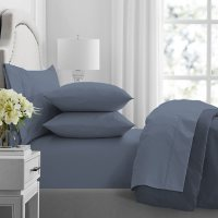 Member's Mark Hotel Premier Collection 700 Thread Count Egyptian Cotton Solid Sheet Set (Assorted Sizes and Colors)