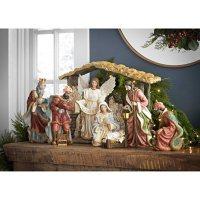 Member's Mark 9-Piece Nativity Set (Caucasian)
