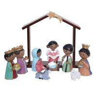 Member's Mark 11-Piece Children's Nativity Set (Multicultural)
