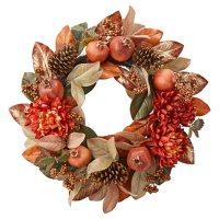 """Member's Mark 26"""" Harvest Wreath (Burgundy)"""