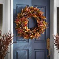 """Member's Mark 30"""" Harvest Wreath (Fern)"""