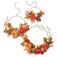 Member's Mark Harvest Hoop Wreaths, Set of 3 (Traditional)