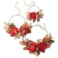 Member's Mark Harvest Hoop Wreaths, Set of 3 (Trend)