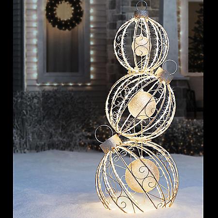 "Member's Mark Pre-Lit 62"" Rotating Ornament Décor"
