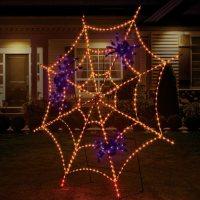 "Member's Mark Pre-Lit 90"" Twinkling Spider Web"