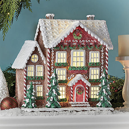 Member's Mark Pre-Lit Gingerbread House