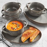 Member's Mark 8-Piece Bowl and Appetizer Plate Set (Assorted Colors)