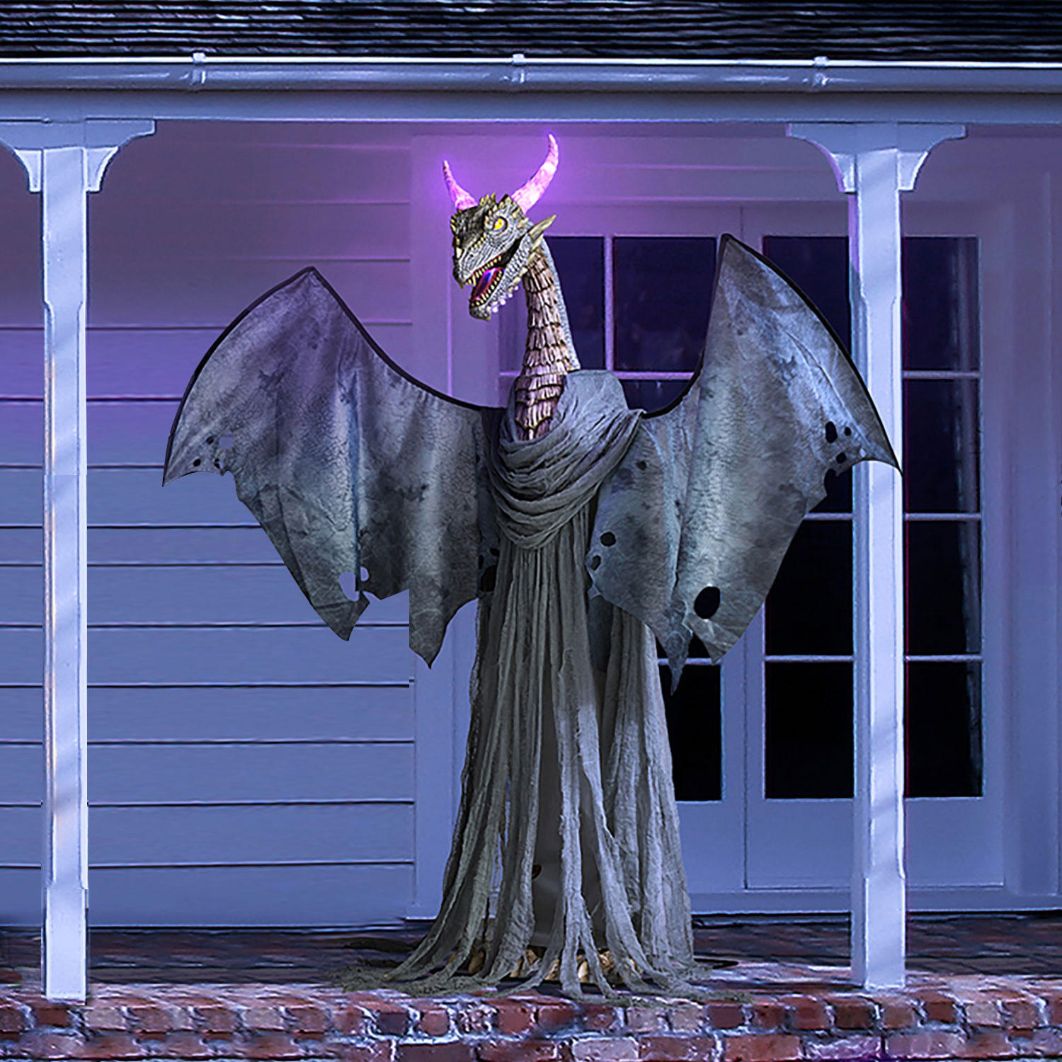 Member's Mark 82″ Color-Changing Animated Dragon