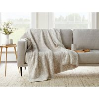 Member's Mark Luxury Premier Collection Cozy Knit Animal Print Throw (Assorted Colors)