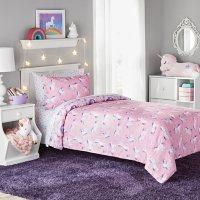 Member's Mark Kids' Unicorn Reversible Bed-in-a-Bag Comforter Set (Assorted Sizes)