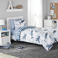 Member's Mark Kids' Shark Reversible Bed-in-a-Bag Comforter Set (Assorted Sizes)