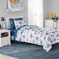 Member's Mark Kids' Monster Truck Reversible Bed-in-a-Bag Comforter Set (Assorted Sizes)