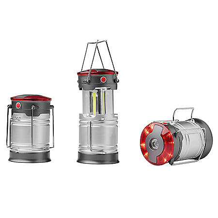 Member's Mark Lantern with Flashlight (3 pk.)