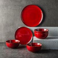 Member's Mark 12-Piece Dinnerware Set (Assorted Colors)