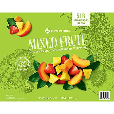Member's Mark Mixed Fruit, Frozen (5 lbs.)