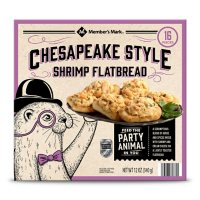 Member's Mark Chesapeake Style Shrimp Flatbread, Frozen (16 ct.)
