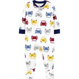 Carter's Boy Fleece Footie PJs