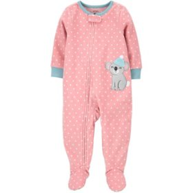 Carter's Girl Fleece Footie PJs