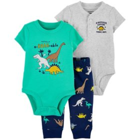 Carter's Boys' 3-Piece Bodysuit Pant Set