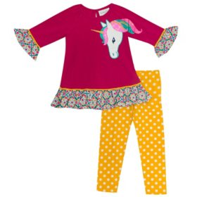 Emily Rose Girl's Legging Sets