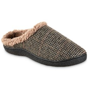 Isotoner Men's Recycled Brett Hoodback Slipper