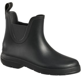 Totes Ladies Chelsea Ankle Rain Boot