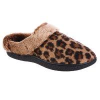 Isotoner Women's Memory Foam Erica Hoodback ECO Comfort Slippers