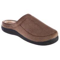 Isotoner Men's Memory Foam Hoodback ECO Comfort Slippers