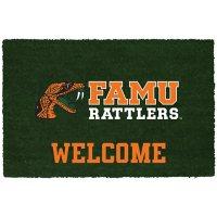 NCAA Welcome Door Mat - Florida A&M Rattlers