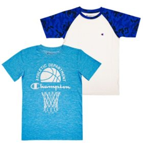 Champion Boys 2-Pack Active Tops (Various Colors)