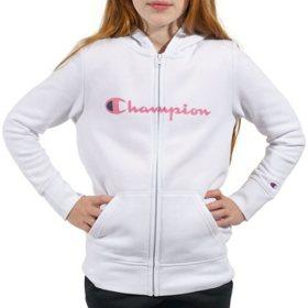 Champion Girls' Fleece Hoodie