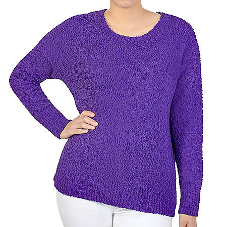 Seven7 Popcorn Chenille Sweater
