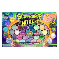 SlimyGloop Mix'Ems Ready-Made Slimes, 52-Pack